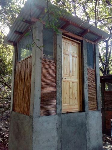 composting dry toilet!