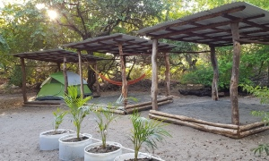 We offer three camping spaces
