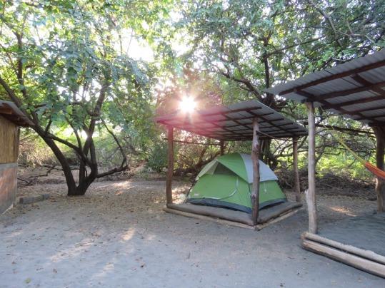 Our idyllic Campsite